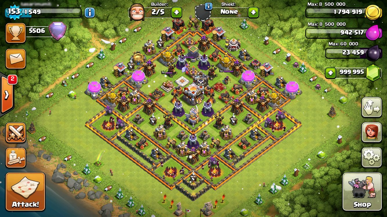 Clash of clans Hack on iOS tOPSTORE