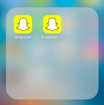 Installed SnapChat++ on iOS - TopStore VIP Free App