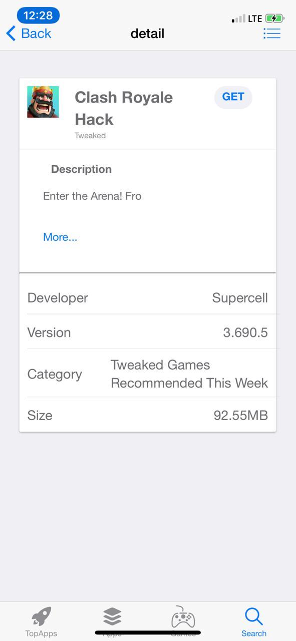 Install Clash Royale Hack on iPhone/iPad
