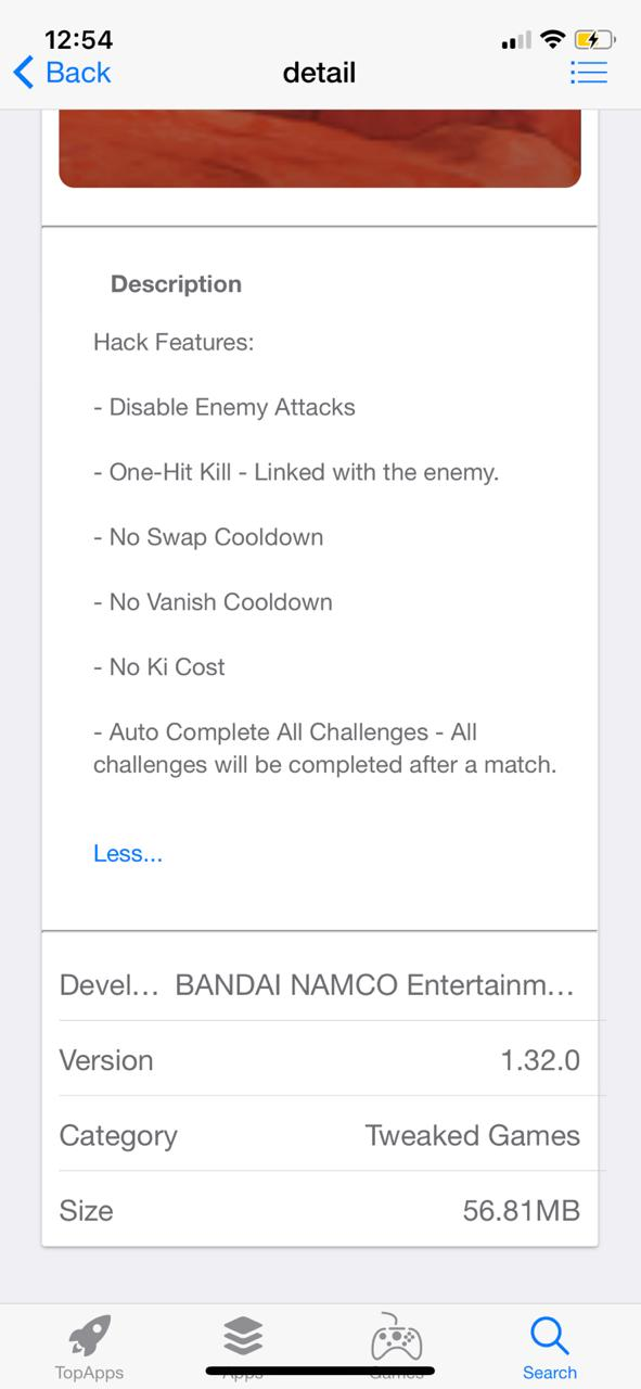 Features of Dragon Ball Legends Hack on iOS