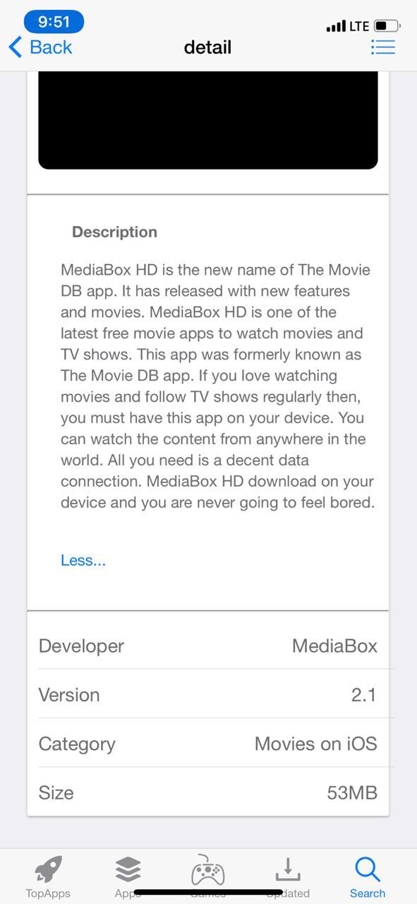 MediaBox HD App