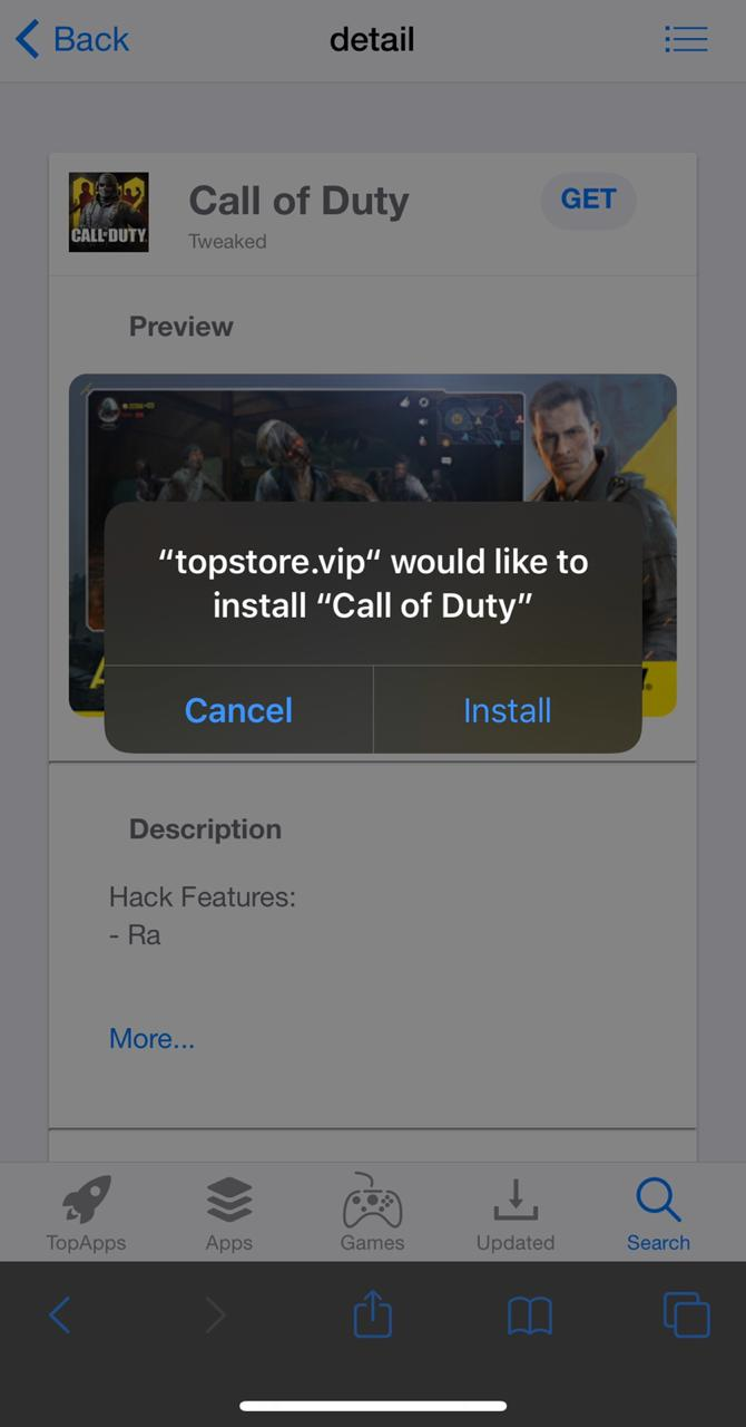 INSTALL COD MOBILE HACK
