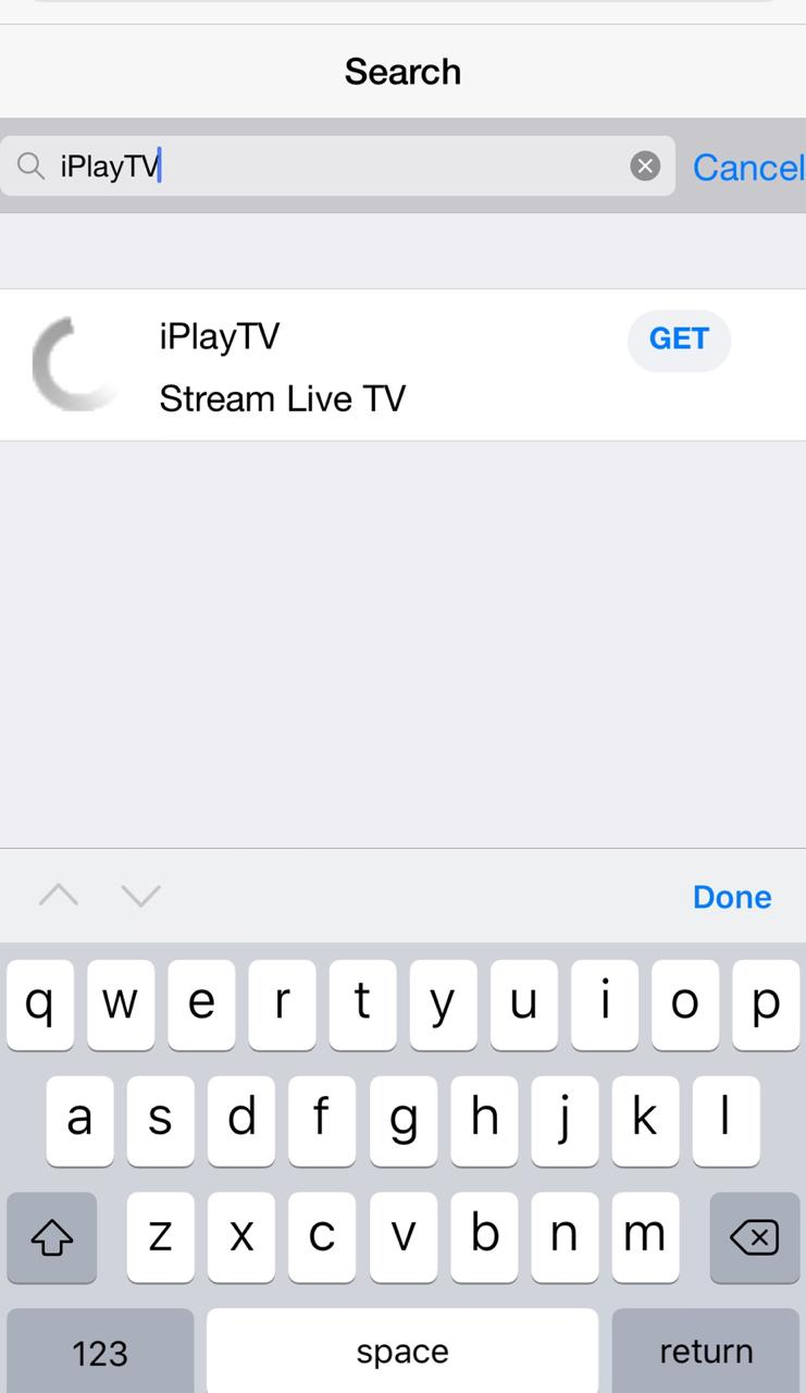 Search for iPlay TV
