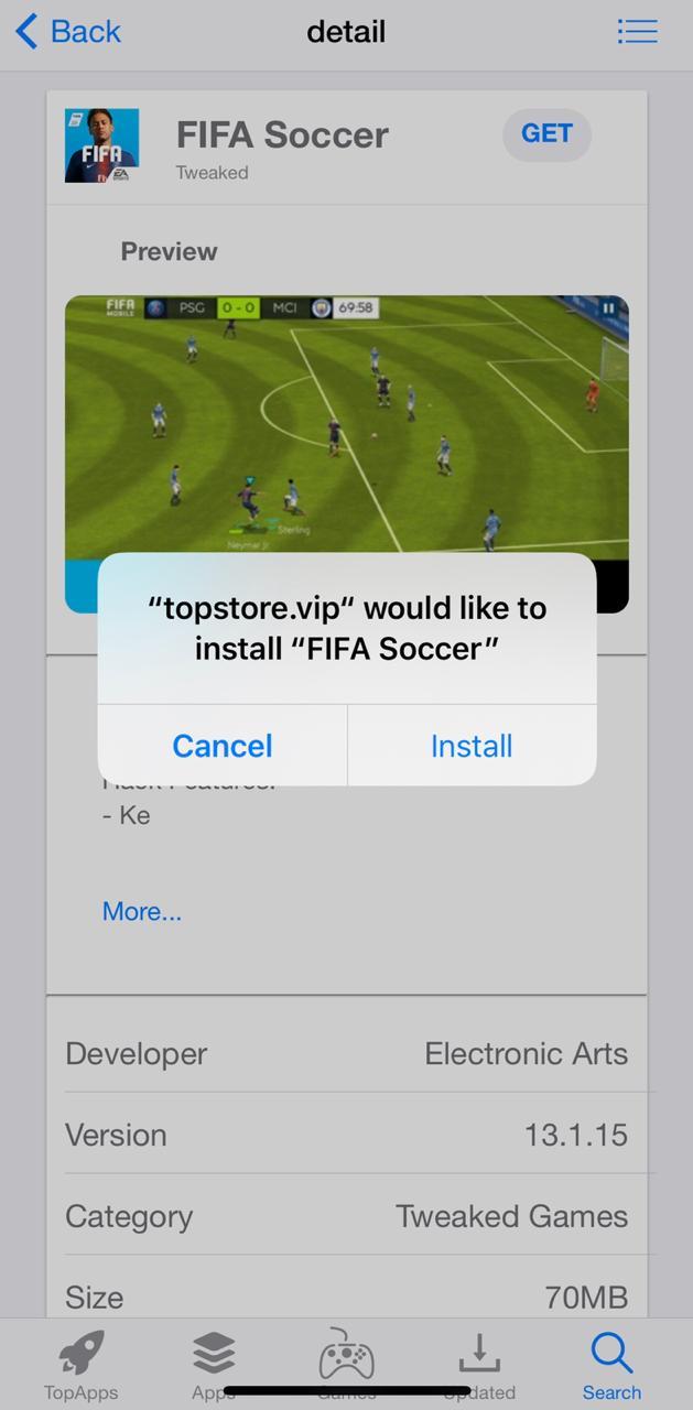 install fifa soccer hack ios